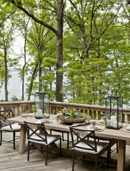 Coole, moderne Gartenmöbel Designs holz esszimmer