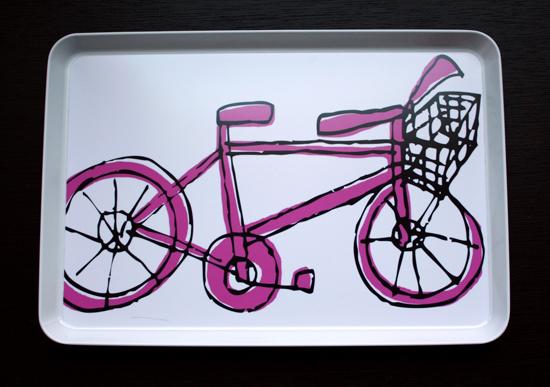 coole outdoor zubehör ideen servier platte interessant fahrrad