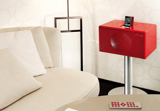 coole outdoor zubehör ideen weiß sofa leder rot beistelltisch