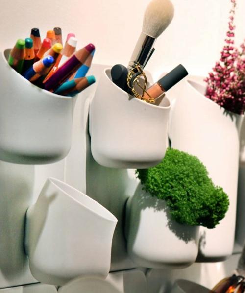 coole praktische deko ideen urbio büro wand gegenstände