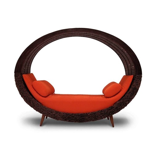 coole traumhafte sofa designs niedrig leder kreisförmig