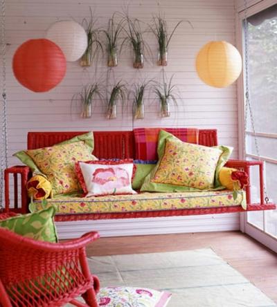 coole veranda designs leicht bunt