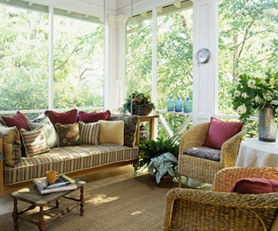 coole veranda designs leicht liege bett
