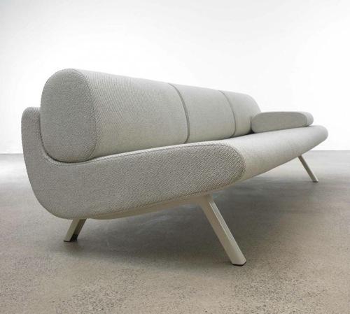 coole weiße sofa designs niedrig elegant klassisch weich