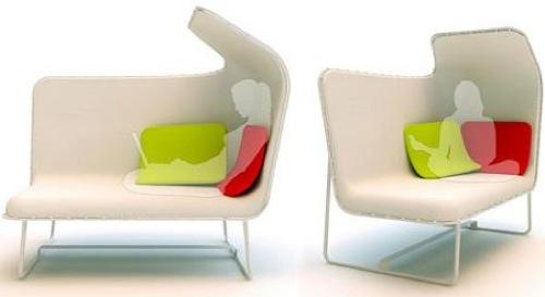 coole weiße sofa designs niedrig elegant klein liege