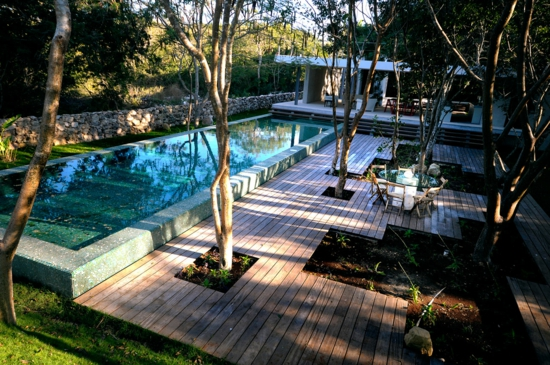 garten anlegen mit pool – rekem, Garten Ideen