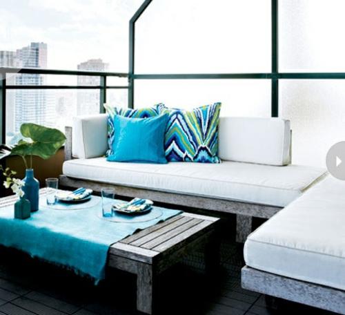 coolen wohnraum im garten gestalten balkon geringfügen