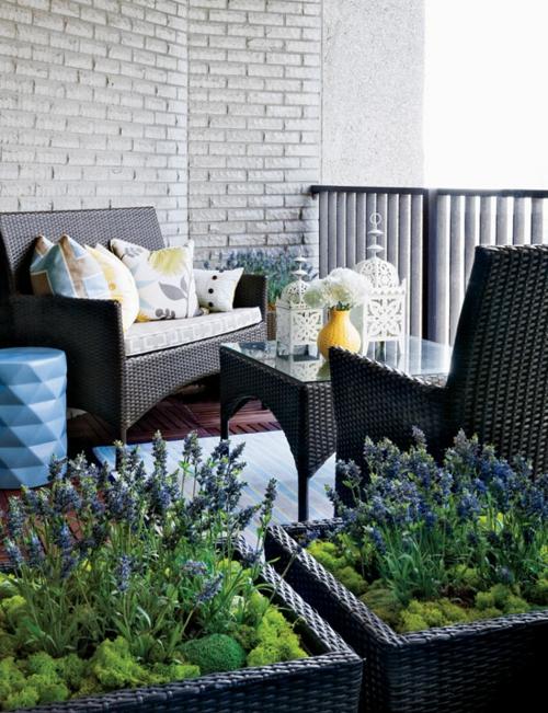 coolen wohnraum im garten gestalten balkon sachlich