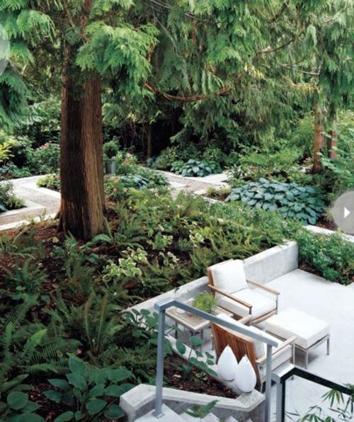 coolen wohnraum im garten gestalten oase