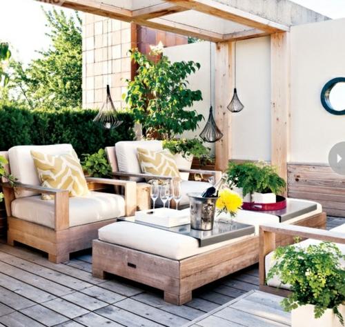 coolen wohnraum im garten gestalten 11 n tzliche. Black Bedroom Furniture Sets. Home Design Ideas