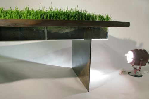 Contemporary Kitchen Tables Distressed   Metres