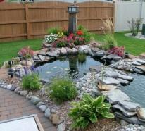 Dekorativen Teich im Garten anlegen –  Zurück zur Natur Bewegung