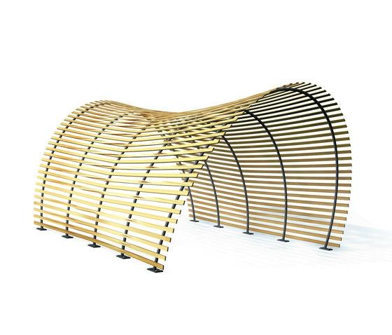 Teakholz Gartenmobel Karchern : Designer Holz Pergola  italienisches Design für Ihren Außenbereich