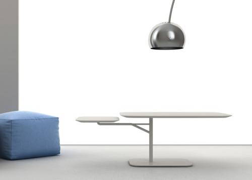 Designer Kaffee Tisch von Roberto Paoli für Ligne Roset konzipiert