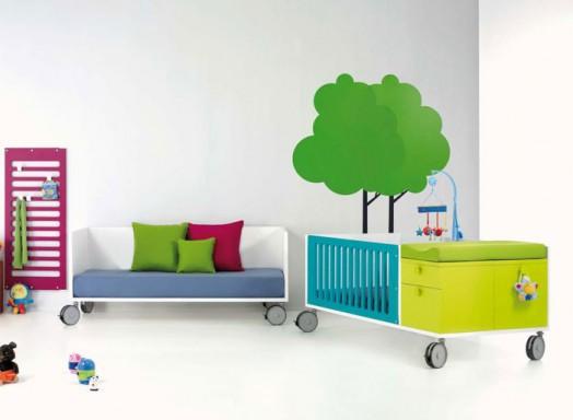 bett auf rollen rader. Black Bedroom Furniture Sets. Home Design Ideas