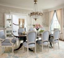 31 elegante Esszimmer Design Ideen  – klassische, feminine Note