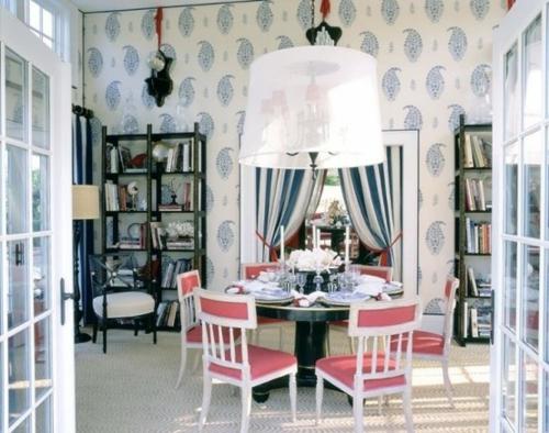 elegante esszimmer design ideen feminin auffallend weich polsterung