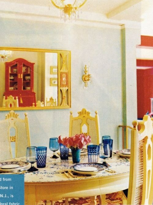 elegante esszimmer design ideen feminin gelbe farbe holz
