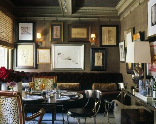 25 elegante esszimmer designs in verschiedenen