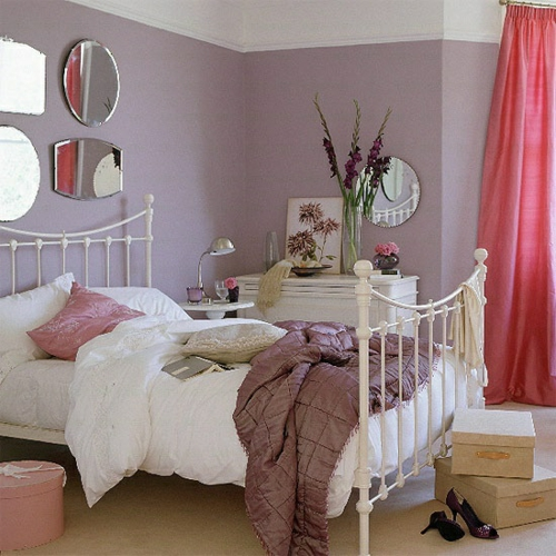 46 romantische schlafzimmer designs - süße träume!, Deko ideen