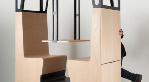 Holz ess - stand design esche buche echte inspiration zugabteil idee