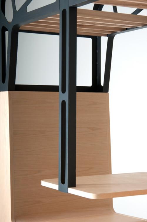 Holz Ess Stand Design Il Treno Von Tjep Altem Zugabteil Inspiriert