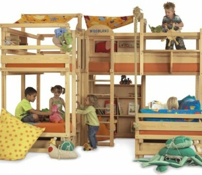 Awesome Modernes Schlafzimmer Design Fur Grose Familien Photos ...