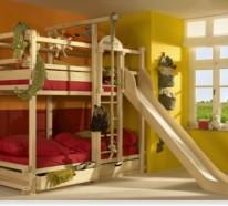 Etagen Betten für große Familien angebracht von Woodland