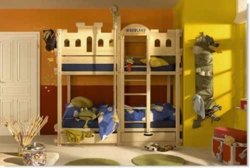 etagenbetten für kinder holz kinder woodland