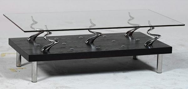 glasoberfläche kreative coole kaffee tische tischplatte glas