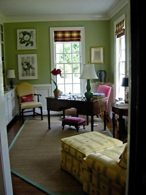feine home office ideen elegant feminine schreibtisch hocker