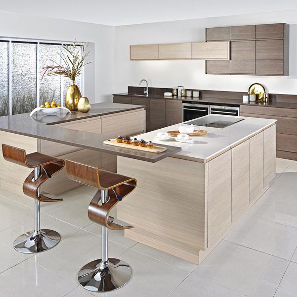 Frische coole Küchen Farben - zarte, helle Farben in der Küche