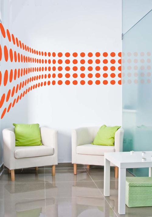 frisches interior design farbakzente in orange einsetzen. Black Bedroom Furniture Sets. Home Design Ideas