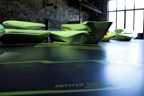 attraktives schönes designer sofa zaha hadid idee cool