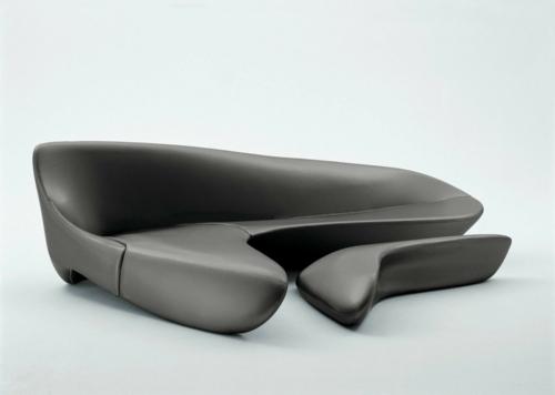 attraktives schönes designer sofa zaha hadid idee schick