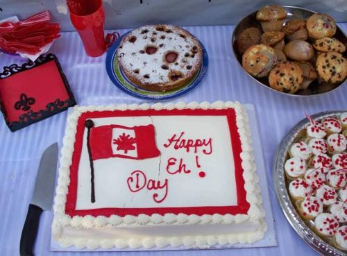 garten deko ideen aus kanada torte