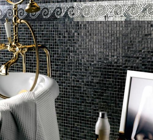 badezimmer mosaik schwarz ~ sammlung von bildern für home design, Hause ideen