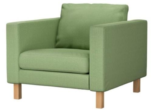 hellgrüne Sessel Designs modern IKEA karlstad