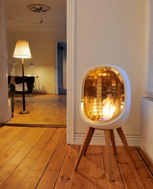 großartige tragbare Feuer Stellen cavallius design