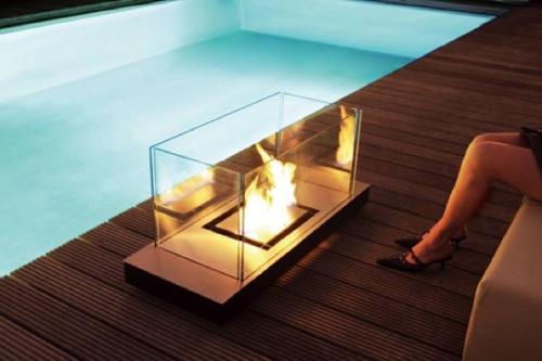 großartige tragbare Feuer Stellen conmoto