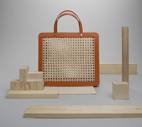 Große Schrank Designs aus Rattan handtasche