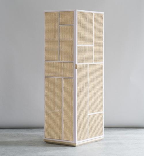 Große Schrank Designs aus Rattan von Gustafsson und Niklas ...