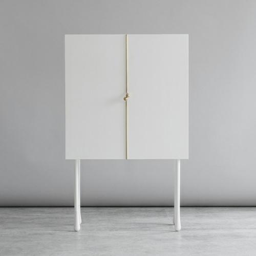 Große Schrank Designs aus Rattan weiß kiefer beinen lange