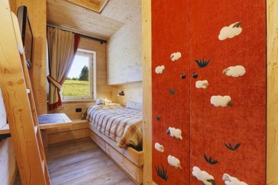 hölzerne inneneinrichtung haus-naturholz ausstattung gästezimmer