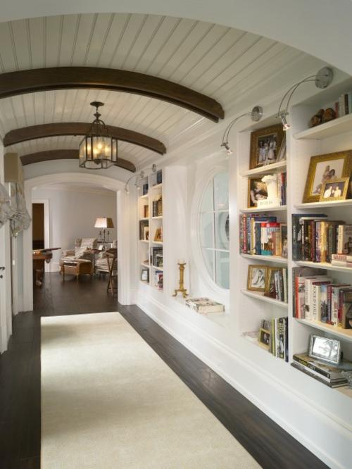 Coole Ideen für Haus Bibliothek Anordnung ...