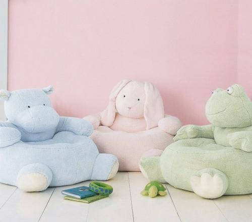 Haustier-förmige Kinder Puff Desings plüsch pastellfarben