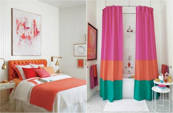 Helle Farben Im Interior Design Kombinieren Badezimmer