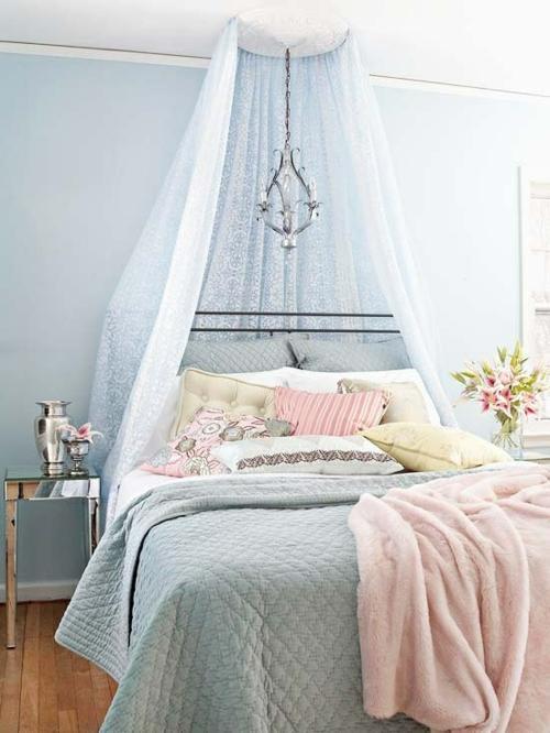 Himmelbett weiß romantisch  46 romantische Schlafzimmer Designs - Süße Träume!