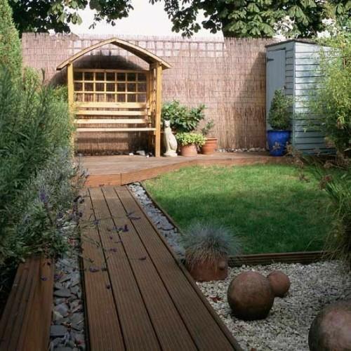 17 tipps für holz boden belag im garten oder auf der terrasse, Gartengerate ideen