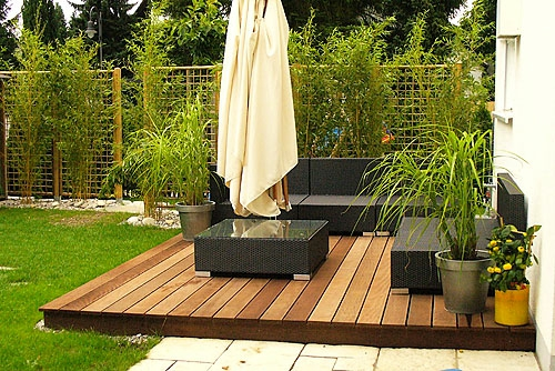 terrasse holz selbst verlegen. Black Bedroom Furniture Sets. Home Design Ideas